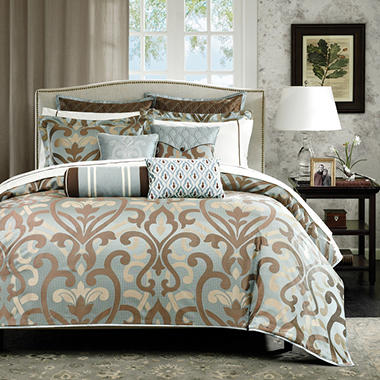 Sancerre Jacquard 16-piece Comforter Set - King