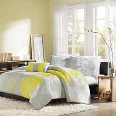 Chloe 4-Piece Duvet Set - Various Sizes and Colors
