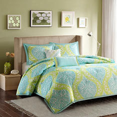 Senna 4-Piece Comforter Set - Various Sizes