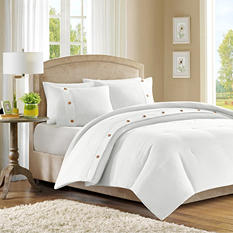 Waffle Comforter Set (3 pcs.) - Various Sizes & Colors
