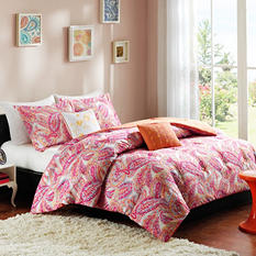 Anila 4-Piece Comforter Set - Various Sizes