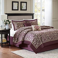 Carnegie 6-Piece Comforter Set - Various Sizes