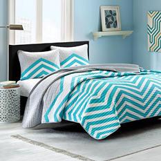 Moxie Quilt Mini Set - Various Sizes (Aqua)
