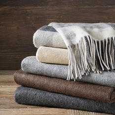 "Cashmere Throw 50"" x 60"" - Various Colors"