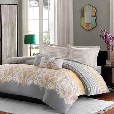 Cora 210 Thread Count Comforter Mini Set - Various Sizes