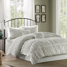 Pricilla 6-Piece Comforter Set - Various Size & Colors