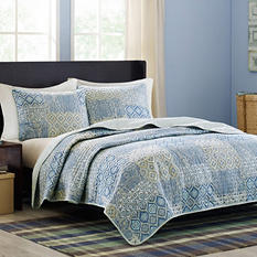 Capri 3-Piece Coverlet Set - Various Sizes