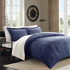 Cambridge 3-Piece Comforter Set - Various Size & Colors