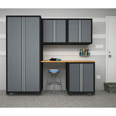 NewAge Pro Series 5 pc. Cabinet Set - Gray