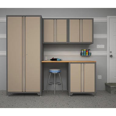 NewAge Products Pro Series 5 pc. Cabinet Set - Taupe