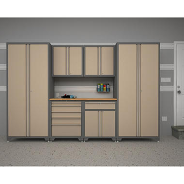 NewAge Products Pro Series 7 pc. Cabinet Set - Taupe