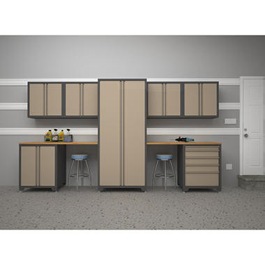 NewAge Pro Series 9 pc. Cabinet Set - Taupe