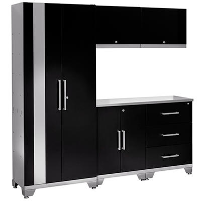 NewAge Performance Series  6 Pc Cabinet Set - Black or Red