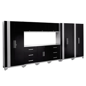 NewAge Products Performance 10 pc. Metal Cabinet Set (Assorted Colors)