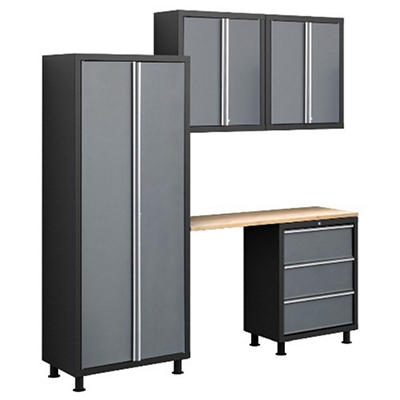 NewAge Bold Series 5 pc. Cabinet Set - Gray