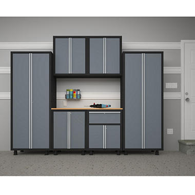 NewAge Bold Series 7 pc. Cabinet Set - Gray