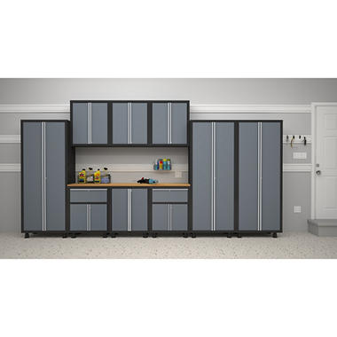 NewAge Bold Series 10 pc. Cabinet Set - Gray