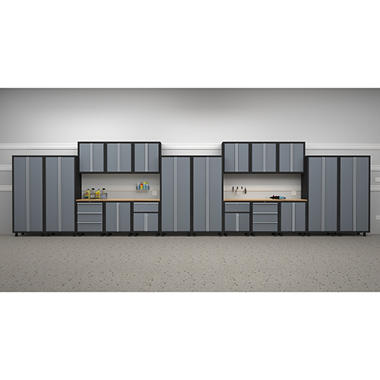 NewAge Bold Series 20 pc. Cabinet Set - Gray