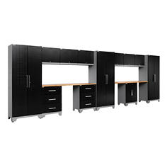 NewAge Products Performance Series 14-pc Welded Steel DP Cabinet Set (Black)