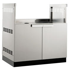 """NewAge Products Outdoor Kitchen 33"""" Stainless Steel Classic Grill Cabinet"""