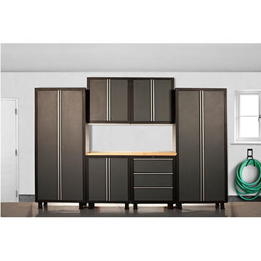 Coleman Cabinet Set - Gray - 7 pc.