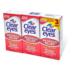 Clear Eyes Eye Drops (0.5 oz., 3 pk.)