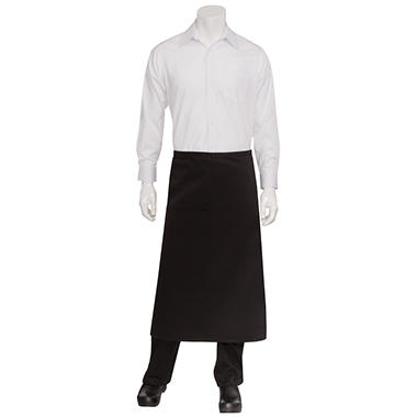 Chef Works Bistro Apron - Black