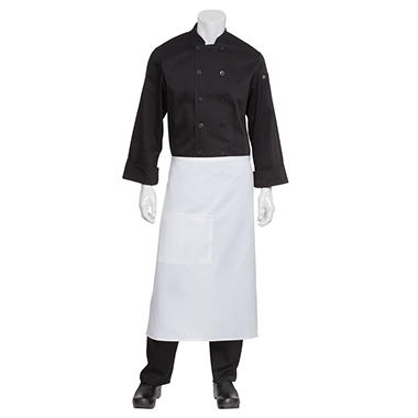 Chef Works Bistro Apron - White