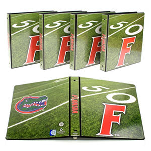"Florida Gators 1"" College Binders, 4pk."