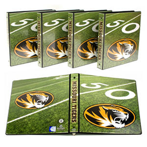 "Missouri Tigers 1"" College Binders, 4pk."