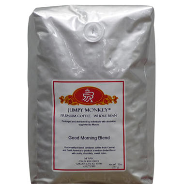 Mosaic Jumpy Monkey Whole Bean Coffee - 32 oz.