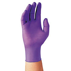 Kimberly-Clark Professional* - PURPLE NITRILE Exam Gloves, Large, Purple -  100/Box