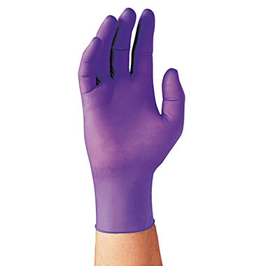 Kimberly-Clark Professional Sterling Nitrile Exam Gloves - X Large - Purple - 90 ct.