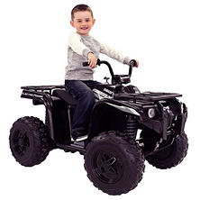 Yamaha Grizzly 12-Volt Battery-Powered Ride-On - Black