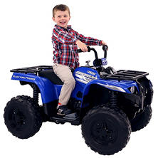 Yamaha Grizzly 12-Volt Battery-Powered Ride-On - Blue