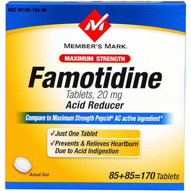 Member's Mark® Famotidine - 2/85ct