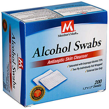 Member's Mark� Alcohol Swabs - 400ct