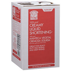 Bakers & Chefs Creamy Liquid Shortening - 35 lbs.