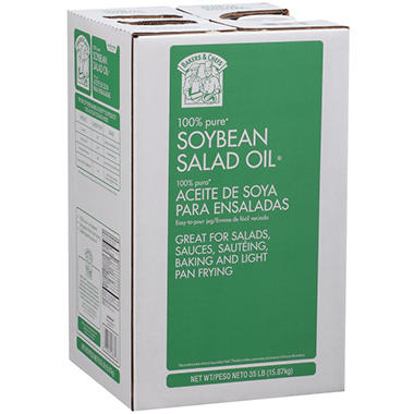 Bakers & Chefs Soybean Salad Oil - 35 lbs.