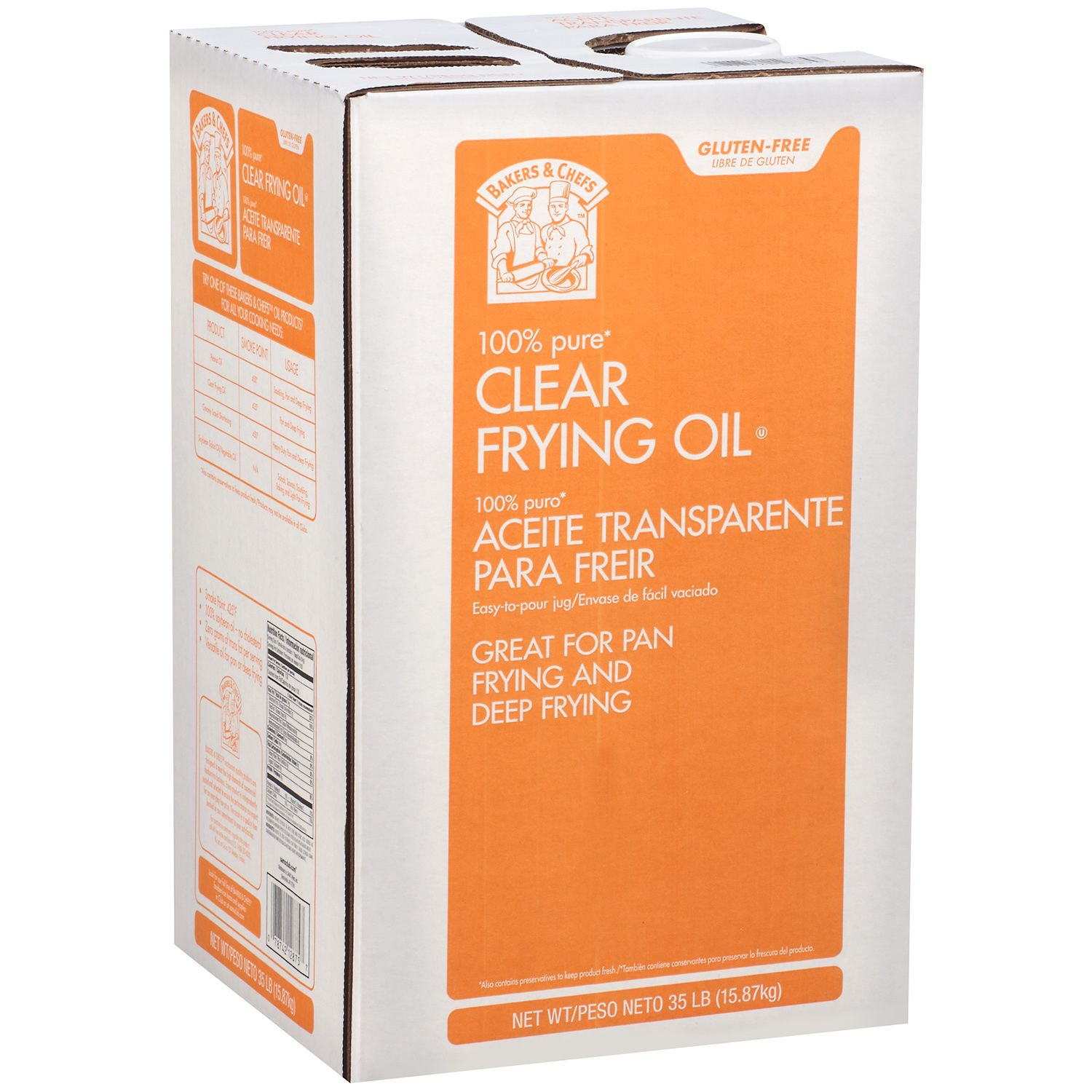 Bakers & Chef's Bakers & Chefs Clear Frying Oil - 35 lbs. at Sears.com
