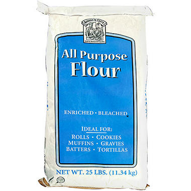 Bakers & Chefs All Purpose Flour - 25 lbs.