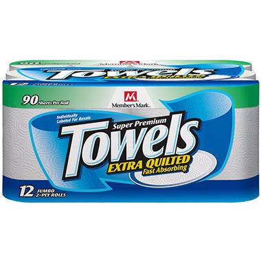 Member's Mark® Super Premium Paper Towels -12ct