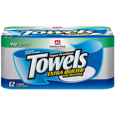 Member's Mark® Super Premium Paper Towels -12ct