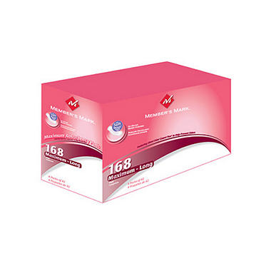 Member's Mark® Ultra Plus Pads - 168ct