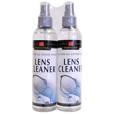 Member's Mark 8 Ounce 2 Pack Lens Cleaner
