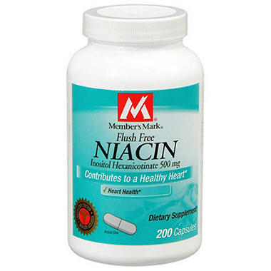 Really surprises. using niacin to clean your system