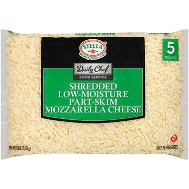 Daily Chef Food Service Shredded Mozzarella Cheese (5 lb.)