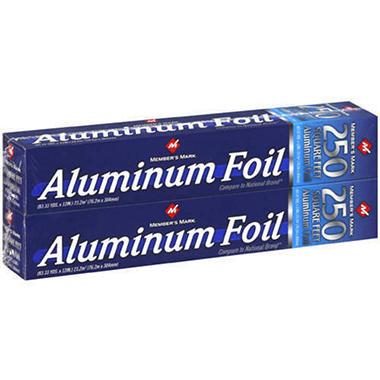 Member's Mark® Aluminum Foil - 2/250 sq. ft.