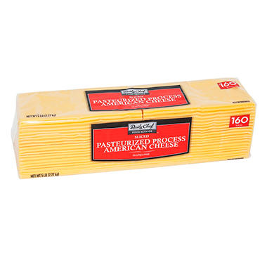 Bakers & Chefs American Cheese - 5 lbs.