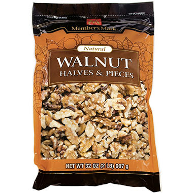 Member's Mark® Walnut Halves & Pieces - 32 oz.